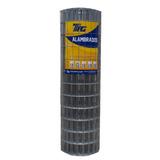 Tela Soldada Tag Malha 5x10cm Fio 1,90mm - 25x1,0m