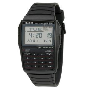 Reloj Casio Calculadora Dbc-321a Negro Original Envío Gratis