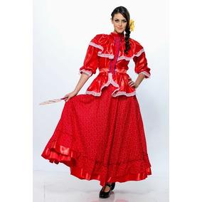 Vestido Nayarit Regional Tipico Tepic Mexico Traje Disfraz