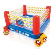 Brincolin Ring De Box Saltador Inflable Con Guantes Intex