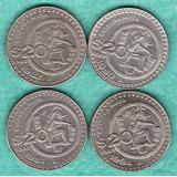 Monedas Mexicanas Veite Pesos Cultura Maya C9