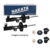 Par Amortecedor Dianteiro Vectra 96/05 Nakata + Kit Suspens