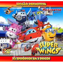 Super Wings Todos 52 Episódios Ed. Definitiva Frete Gratis