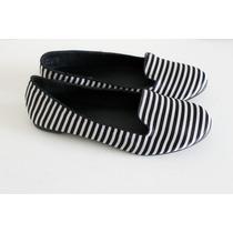 Ballerinas Zapatos Mujer Call It Spring A Rayas Blanco/negro