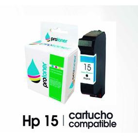 Cartuchos Hp 15 Compatible Impresora Hp 840-845 Tinta Negra