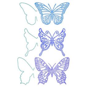 Suaje De Corte De Mariposa Exotica / Small Exotic Butterflie