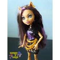 Boneca Monster High Clawdeen Wolf Mattel Original Tem Barbie