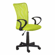 Cadeira Escritorio Lost Secretária Giratória Verde Limao +nf