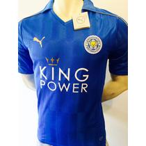 Jersey Leicester City 2016 Campeón De La Liga Premier