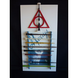 Harry Potter Kit De 10 Varitas + Boleto + Carta Y Exhibidor