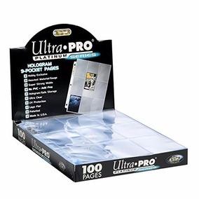 Folhas De Fichario 9 Bolsos Ultra Pro Platinum Series (100)