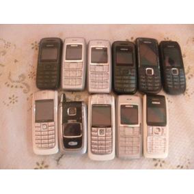 Lote De 11 Celulares Antigo Nokia Vários Modelos Funcionand