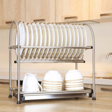Escurridor Platos Wiselife Dish Rack Stainless Steel 2-tier