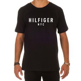 Trench Coat Tommy Hilfiger - Camisetas Manga Curta para Masculino em ... b0b30f5d91e45
