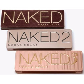 Paleta Naked Kit 3un