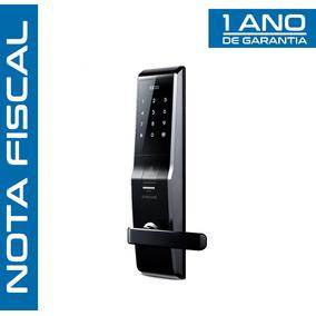 Fechadura Eletronica Samsung Shs-h705 Leito Biométrico + Nf