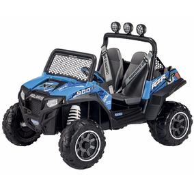Jeep A Bateria Peg-perego Polaris Ranger Rzr 12v Creciendo