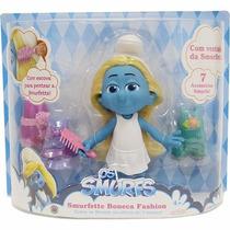 Brinquedo Os Smurfs Boneca Smurfette Fashion Doll Sunny