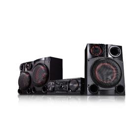 Minicomponente Lg Cm8460 3150 W Bluetooth Karaoke Doble Usb