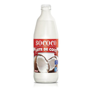 Leche De Coco Light En Vidrio- Sococo