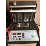 Banco Limpieza Para 6 Inyectores Con Batea Ultrasonido Telme