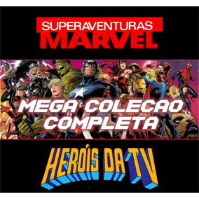 Supercombo Superaventuras Marvel E Heróis Da Tv (hq Digital)