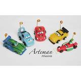 Souvenirs X 10 Rayo Mc Queen, Cars En Porcelana Fria