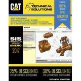 Caterpillar Sis 2017 + Et 2017a + Flash Files+ Disco Ext 1tb