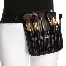 Bolsa Cangurera Porta Brochas 12 Compartimento Maquillaje