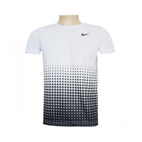 Camisa Nike Dri Fit Branco E Preto Início