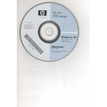 Cd Instalaçao Impressora Hp Psc 700 Series Xp - Mac