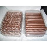 200 Cuchuflís Rellenos C/ Manjar Bañados Chocolate Ambrosoli