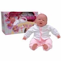 Boneca Bebê Ninos Cotiplás Parece De Verdade Peso De Verdade
