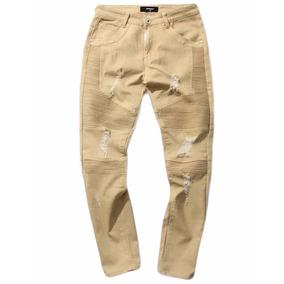 Jeans Pitillos Hombre Crema Hip Hop / Despacho Gratis