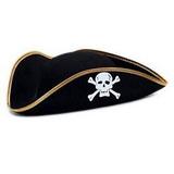 Chapéu Pirata Feltro - Unidade