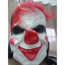 Mascara De Latex Palhaço Assustador Terror - Pronta Entrega