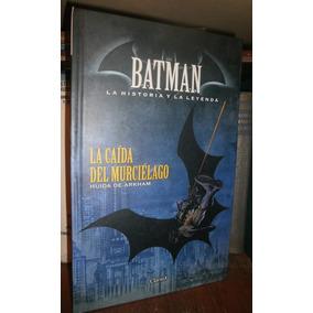 Batman Caida Del Murcielago Huida De Arkham Cómic Clarin #12