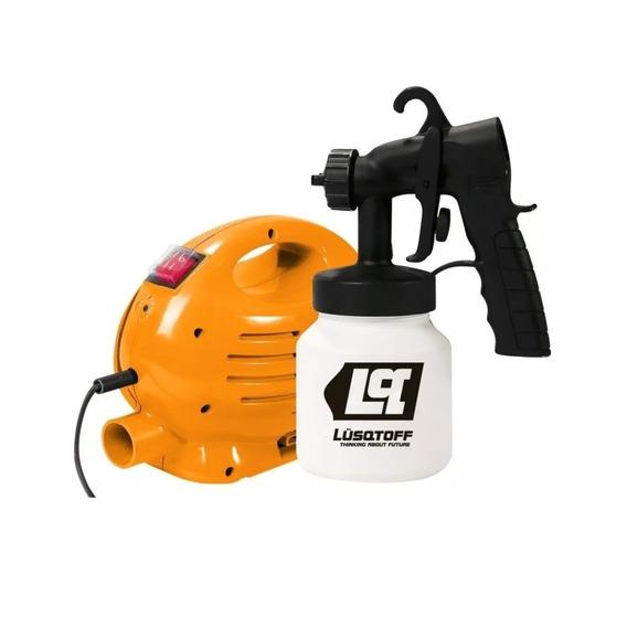 Equipo De Pintar Compresor Pistola Equipo Lusqtoff 1004