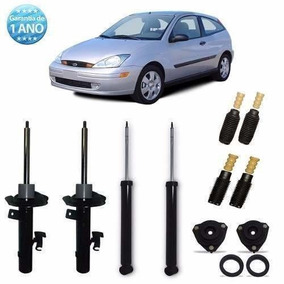 4 Amortecedor+ 4 Kits Focus 2001 2002 2003 2004 2005 2006 07