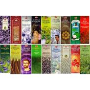 Incenso Indiano Hem 25 Caixas 8 Varetas De Aromas Variados