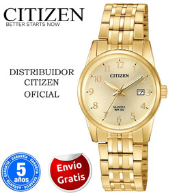 Citizen Eu6002-51q Acero Tono Dorado Linea Para Dama -kairos