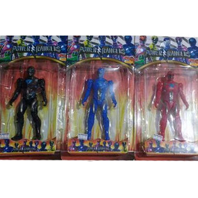 Kit 3 Bonecos Power Rangers O Filme 12cm