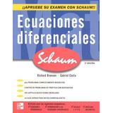 Libro Ecuaciones Diferenciales/ Serie Schaum/ Mcgraw Hill