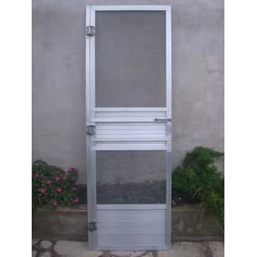 Puerta Mosquitero De Aluminio 0,67 X 2,00 M