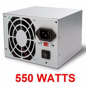 Fuente De Poder 550 Watts Delux Atx 20+4 Pines Sata Ide Xtc