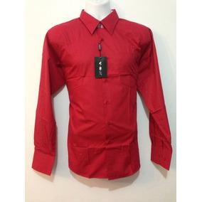 0086b47b779b1 Camisas Rojas Modernas Caballero - Ropa