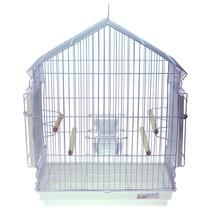 Gaiola Viveiro Para Calopsita Pássaro Manso Bragança Branca