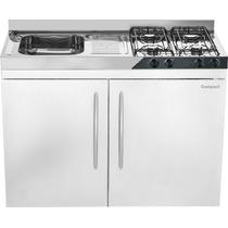 Cozinha Compact/pia Fogão/geladeira/ Armário/ Mini Cozinha