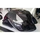 Tanque Combustível Moto Honda Cg125 Fan Preto 2009/2010/2011
