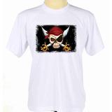 Camisa Camiseta Caveira Pirata Com Espada